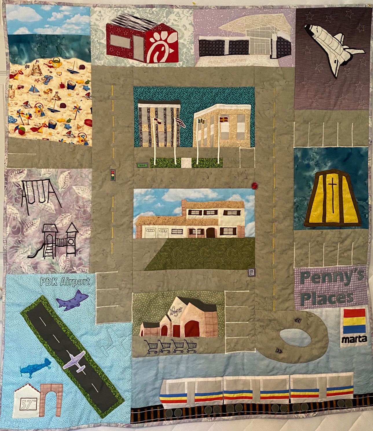 Sue Isaac, Memory Quilt