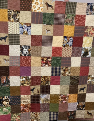 Dogs & Other Critters SHP Quilt by Diane Fogarty