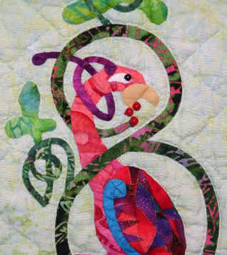 Celtic Bird Quilt